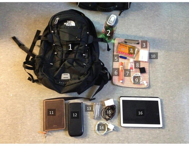 The Undergraduate's School Bag