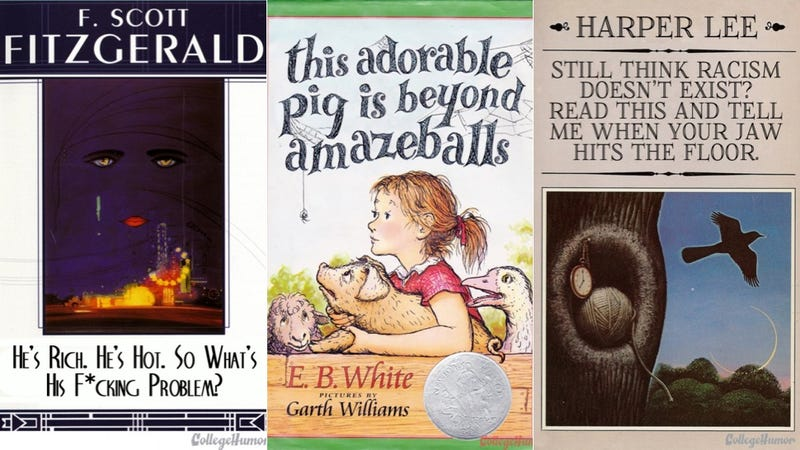 What If Famous Books Had Ridiculous Linkbait Titles?