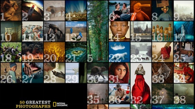 How Did Photographers Take the 50 Best Photos of National Geographic? This iPad App Tells You the Story