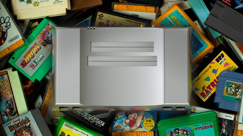 A Gorgeous NES Clone Made From a Solid Block of Aluminum