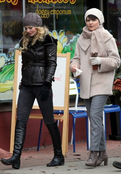 Once Upon a Time Set Pics