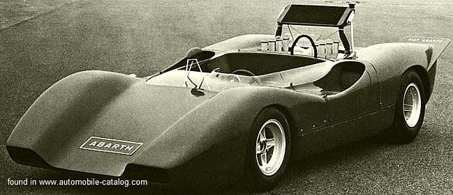 1969 Fiat Abarth 3000 SE015 (1969)