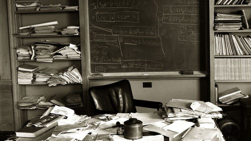 Inside the Office of Albert Einstein