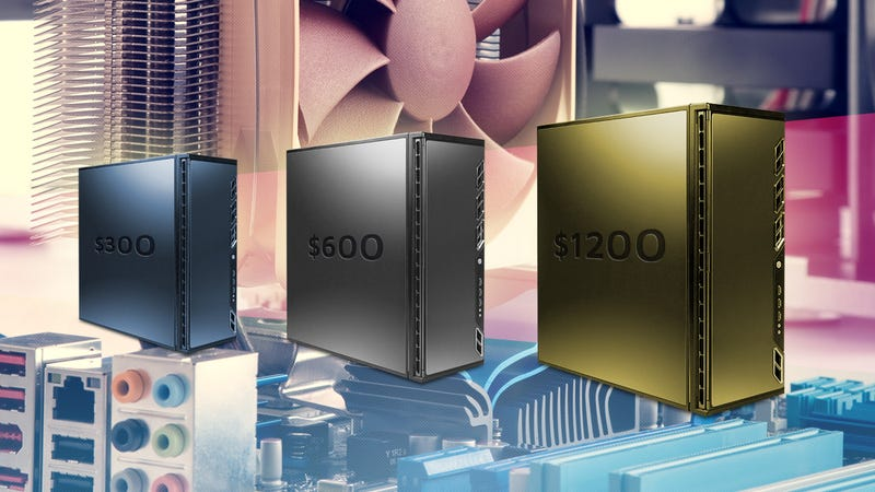 The Best PCs You Can Build for $300, $600, and $1200