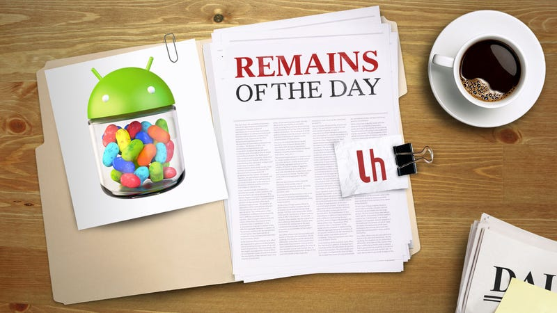 Remains of the Day: Nexus Users, Come Get Android 4.2