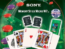 Sony Selling Sin with Memory Sticks