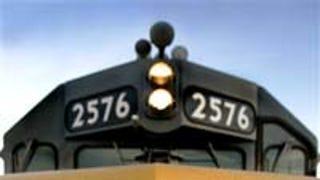 Union Pacific Rail Hops On Green Train Like Some Treehugging Hobo