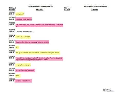 Transcript From Flight 2495: Part One
