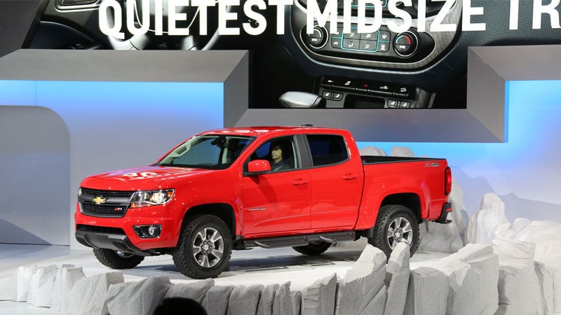 2015 Chevy Colorado: It's Not 'Reinvented' But It's Not Bad