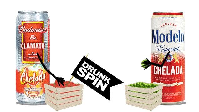 Tomato-Beer Smackdown: Bud Clamato Vs. Modelo Especial