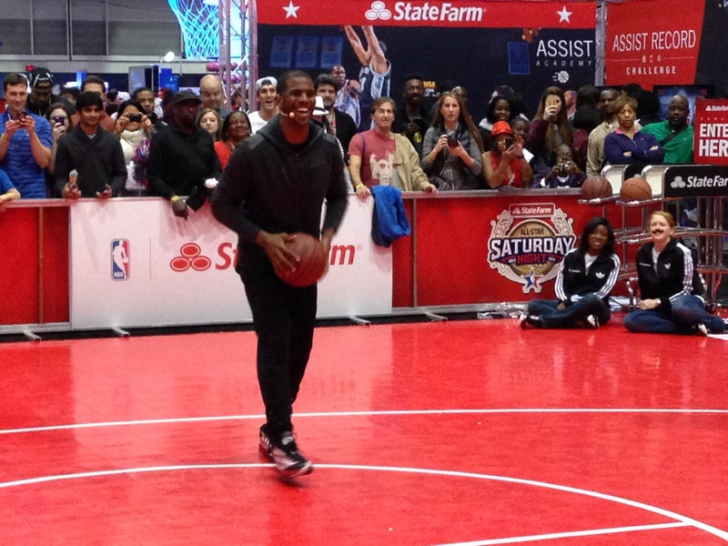 Here's What Happened at Chris Paul's All-Star Weekend Master Class