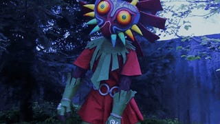 The Making Of A Creepy Skullkid From <i>Zelda</i>