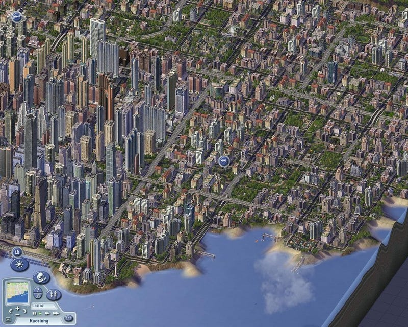 Some Guy Recreated a Country in SimCity