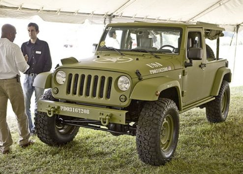 PUTC Checks Out The Jeep J8 Sarge, Can't Find Wert's Missing Burberry Scarf