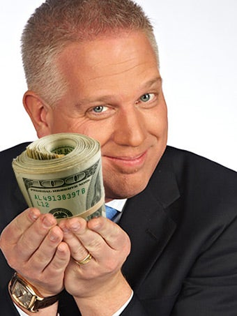Glenn Beck Made $32 Million in 2009