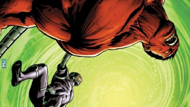 See Machine Man use his head (literally) in this exclusive art preview of Marvel's Hulk!