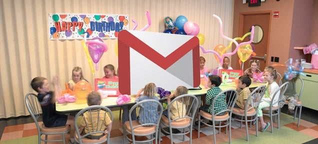 Gmail Is 10 Years Old Today