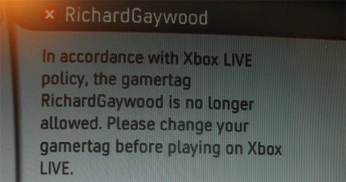 "Xbox Live ""Gay"" Crackdown MIGHT Be Getting A Little Out Of Hand"