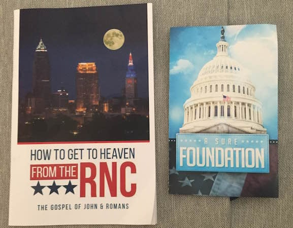Learning How to Get to Heaven at the RNC