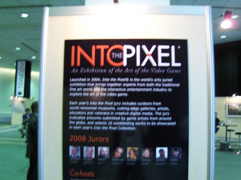Into the Pixel Exhibition