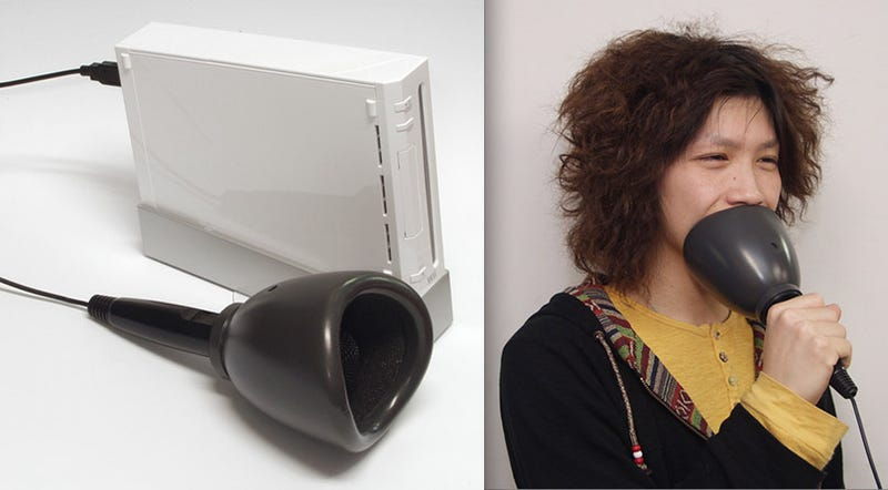 Sing Wii Karaoke Quietly. Like A Goober.