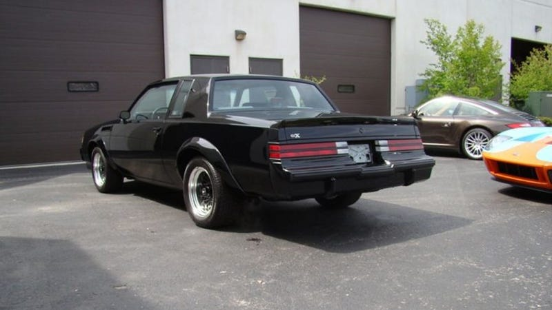This is what a 1987 Buick GNX that has traveled 10 miles looks like