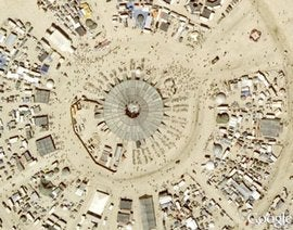 Wall Street Types Dig Burning Man