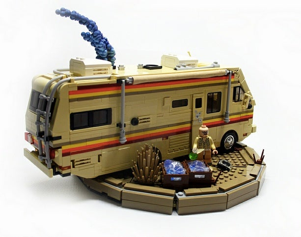 This Breaking Bad meth lab LEGO set is unsuitable for children