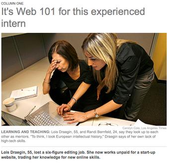 Magazine Editor Retrained as 'Google Trends' Watcher