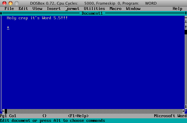 Boxer Emulates DOS on Your Mac