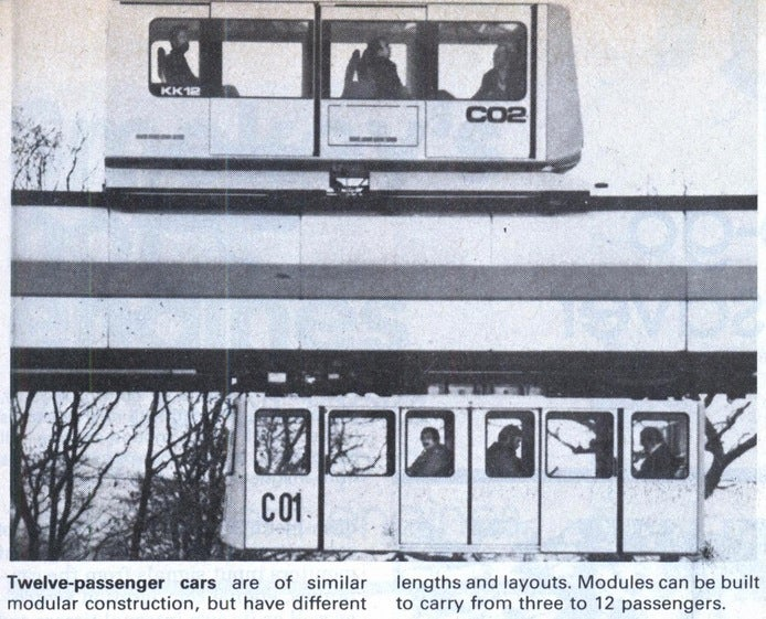 The Most Extraordinary Monorail Designs Of The 20th Century
