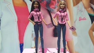 Barbie no longer gives a fuck