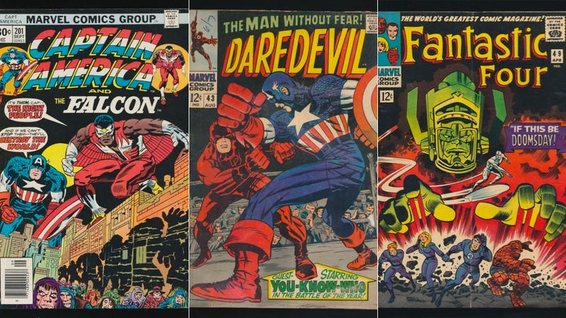 One Comics Fan's Cosmic Quest to Collect All of Jack Kirby's Covers