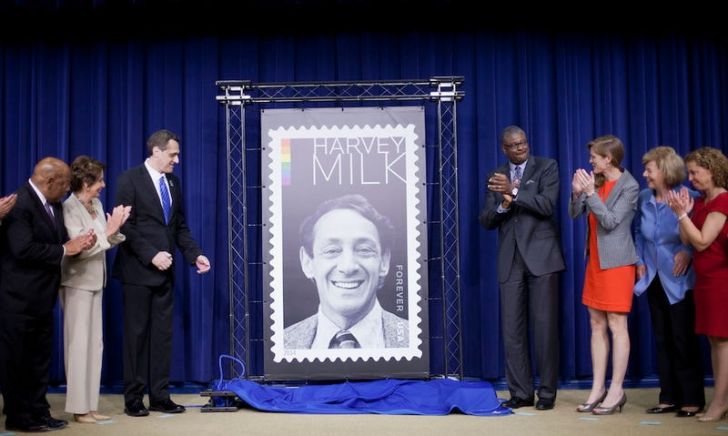USPS to Honor Gay Rights Activist Harvey Milk with Forever Stamps