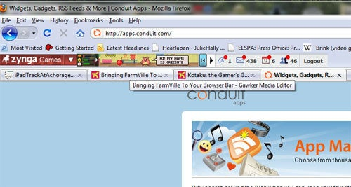 Bringing FarmVille To Your Browser Bar