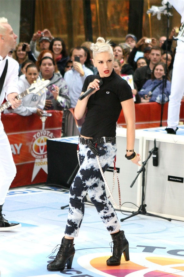 Gwen Stefani: When Good Bleach Goes Bad