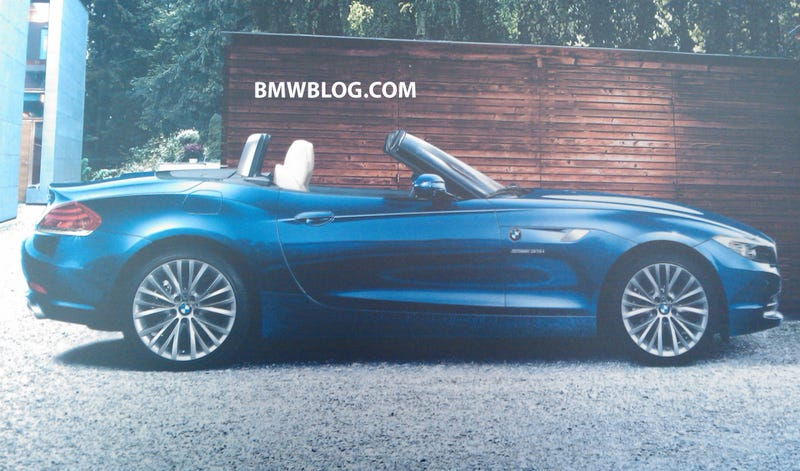 New BMW Z4 Brochure Scans Leak