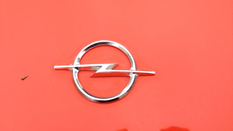 This Opel Manta Is A Bolt Of Orange Lightning