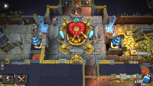 EA's latest F2P cashgrab, Dungeon Keeper, doing just fine