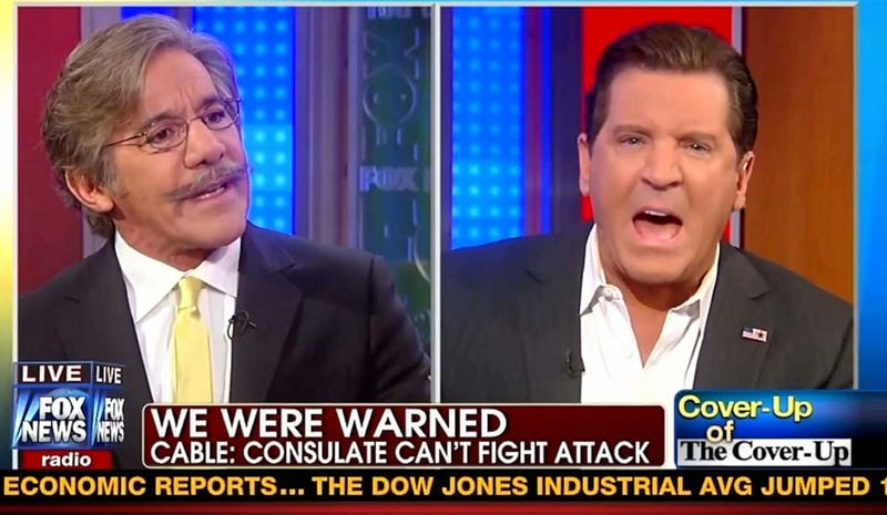 New Book Says Roger Ailes Cut Geraldo's Mic for Benghazi Dissension