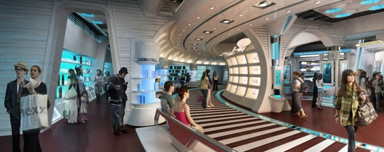 First Concept Art for Paramount's Star Trek Theme Park