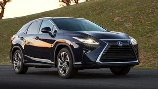 The 2016 Lexus RX Is Here To Take Your Kids To School Or Eat Them