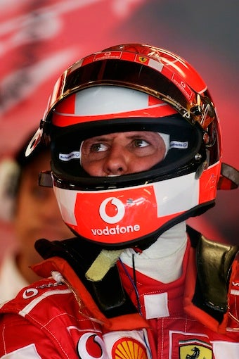 Does Schumacher Still Have the Right Stuff?