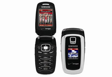 Samsung SCH-a870 Family-Friendly Cellphone With VibeTonz