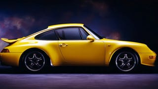 [Yes, Porsche did make an 'RS' version of their last aircooled 911. This is the 1995 3.8 liter 993 Carrera RS. It was too awesome to be sold in the United States. Photo: Porsche]