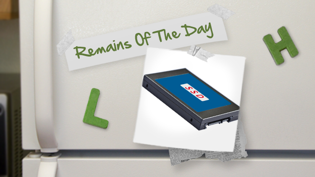 Remains of the Day: An SSD Price War is Coming