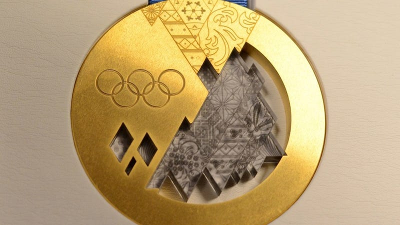 Some 2014 Olympic Gold Medals Will Have a Russian Meteorite In Them