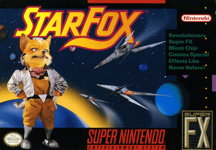 Star Fox Is Blowing My Mind Right Now