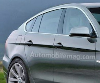 2013 BMW 3 Series... GT?!