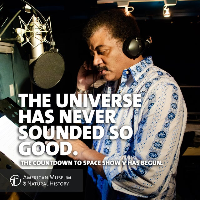 We Got a Narrator Over Here: Neil Tyson to Voice Planetarium Show